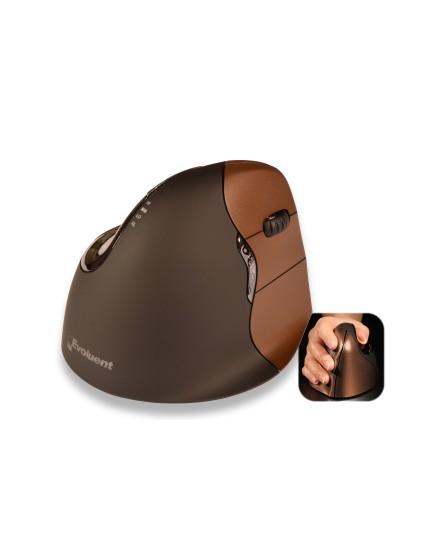 BakkerElkhuizen Evoluent VerticalMouse 4 small trådlös ergonomisk mus