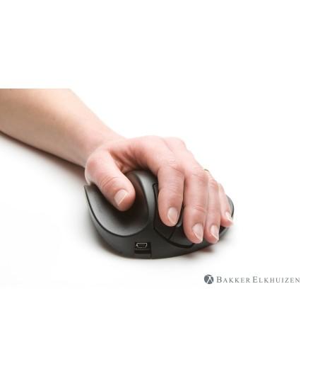 BakkerElkhuizen HandShoeMouse vänster trådlös ergonomisk mus