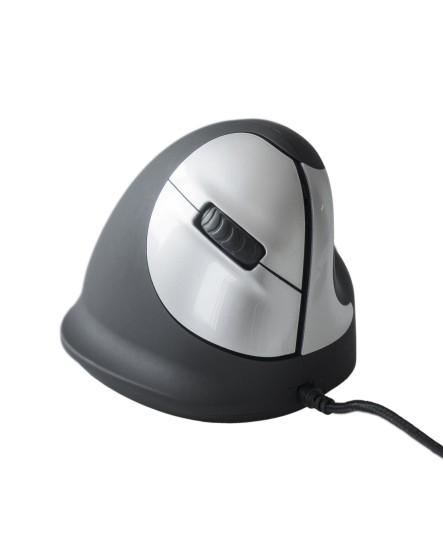R-Go HE Mouse M höger trådbunden ergonomisk mus
