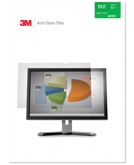 3M Anti-Glare filter för 19.0'' monitor