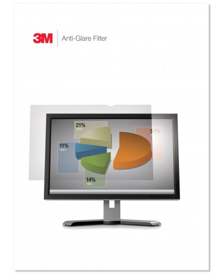 3M Anti-Glare filter för 24'' monitor wide