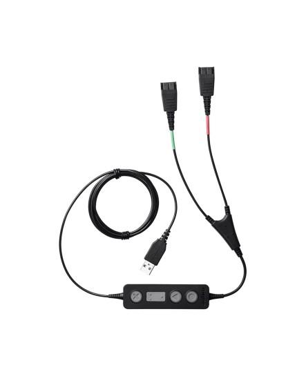 Jabra Link 265 USB QD Y-kabel kontrollenhet