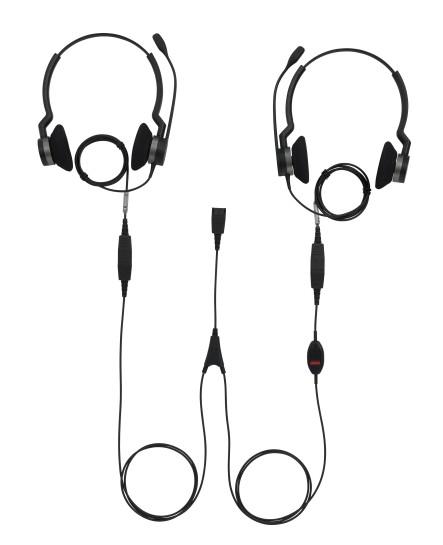 Jabra supervisor y-cord headsetkabel