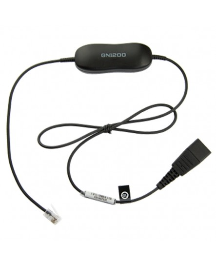 Jabra GN1200 smart cord 0.8m QD-4PIN