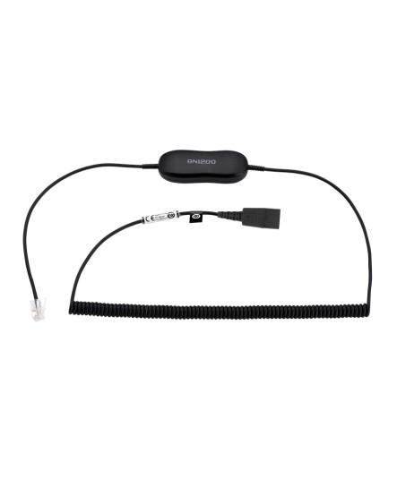 Jabra GN1218 AC RJ-9 QD 2m headsetkabel
