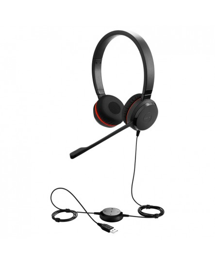 Jabra Evolve 20 MS stereo USB-C headset