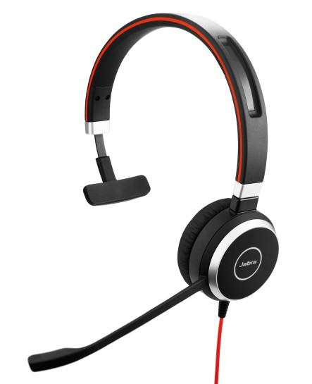 Jabra Evolve 40 UC USB-C mono headset