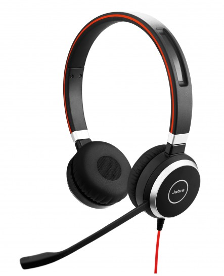 Jabra Evolve 40 UC USB-C stereo headset