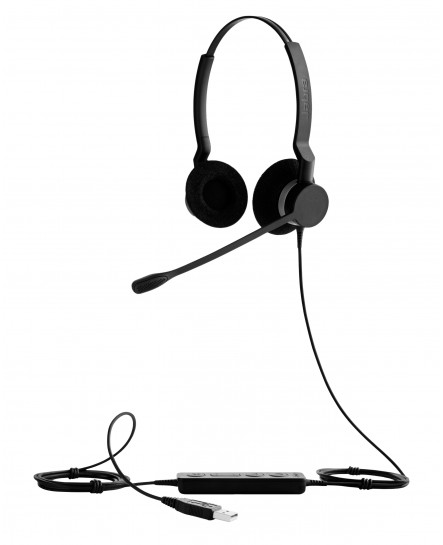 Jabra Biz 2300 duo USB UC headset