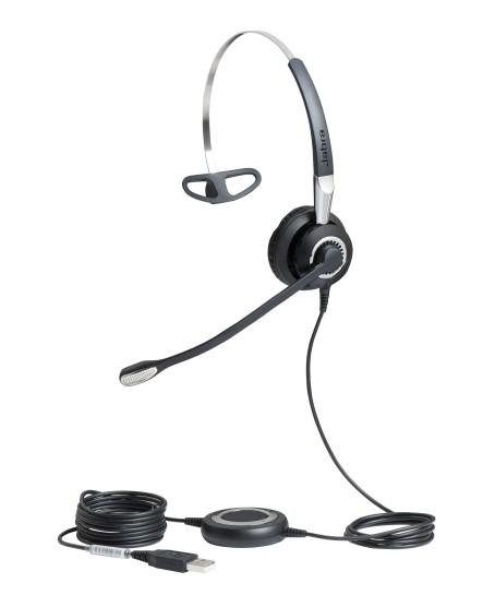 Jabra BIZ 2400 II mono USB UC BT headset