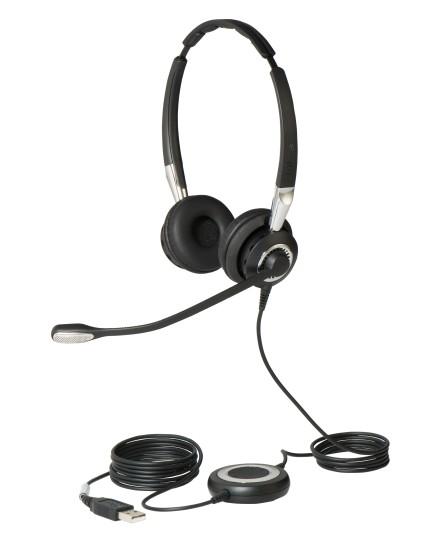 Jabra BIZ 2400 II Duo USB MS BT headset