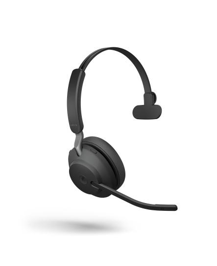 Jabra Evolve2 65 MS inklusive laddställ USB-A svart mono headset