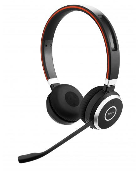Jabra Evolve 65 MS stereo headset inklusive laddställ