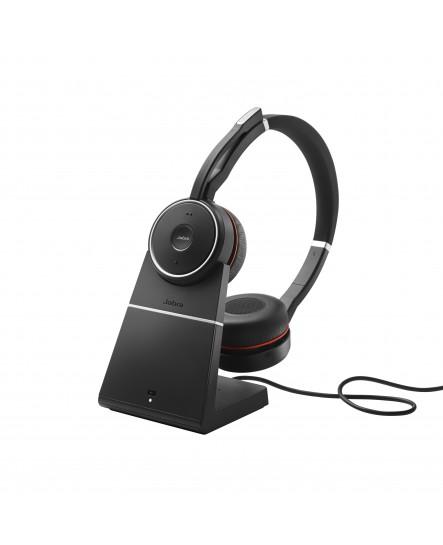 Jabra Evolve 75 inklusive laddställ MS stereo headset