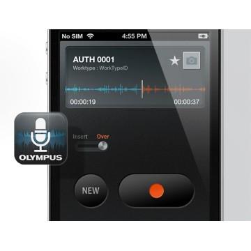 Olympus smartphone diktering