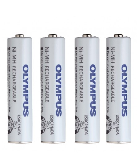 Olympus BR-404 (AAA) laddningsbara Ni-MH batterier