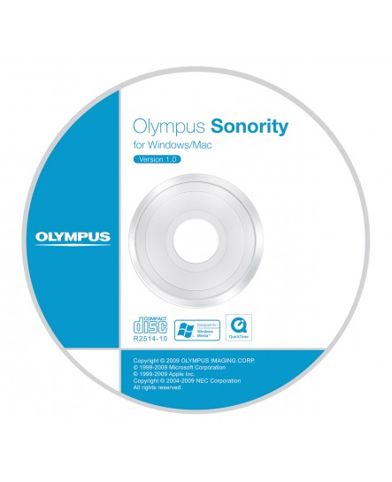 Olympus Sonority Audio Notebook Plug-in CD-ROM