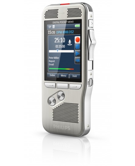 Philips Digital Pocket Memo DPM8100 diktafon