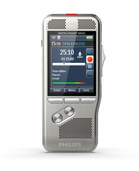 Philips Digital Pocket Memo DPM8200 diktafon