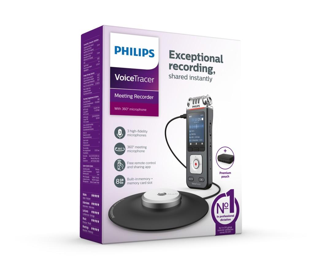 Philips lanserar nytt modellprogram av VoiceTracer