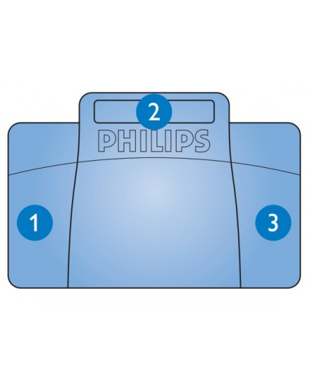 Philips fotpedal LFH2210