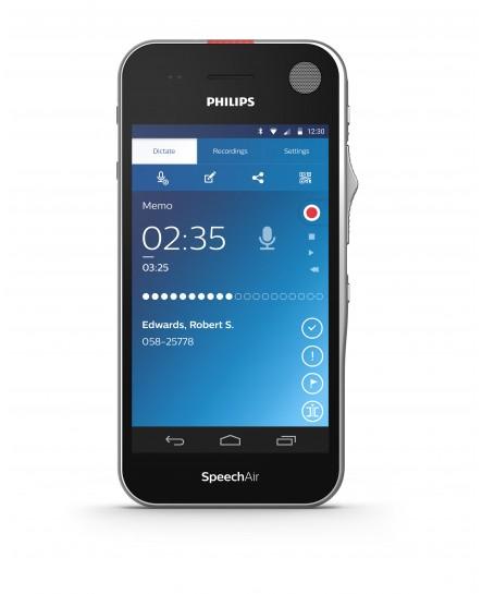 Philips SpeechAir PSP1100 diktafon