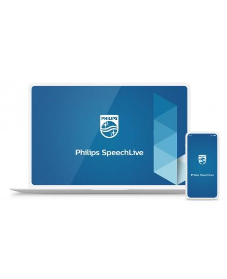 Philips SpeechLive taligenkänningsservice, 2500 minuter