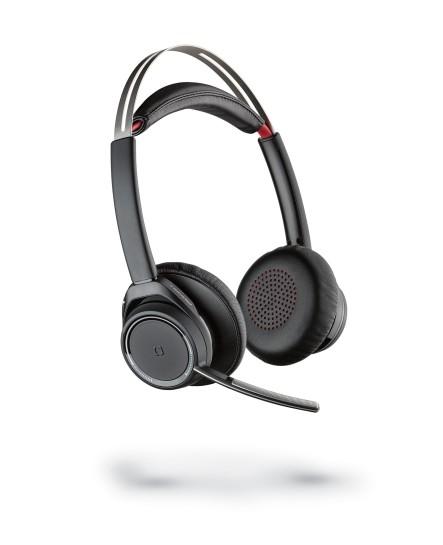 Poly (Plantronics) B825M Voyager Focus UC USB-A utan laddställ stereo bluetooth headset