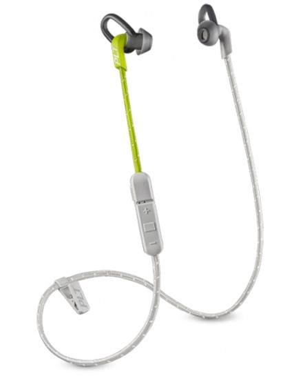 Plantronics BackBeat Fit 305 lime/grå bluetooth stereo headset