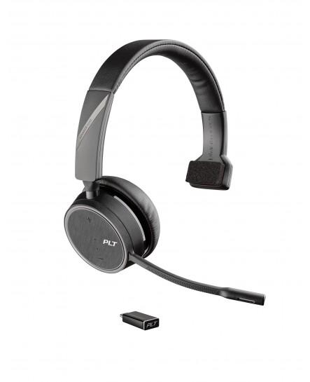 Plantronics B4210 Voyager UC USB-C bluetooth mono headset
