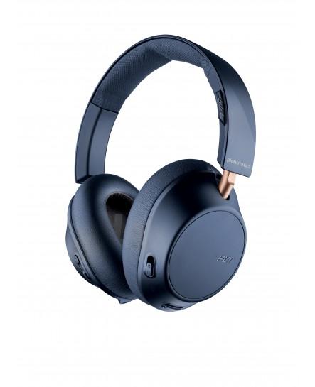 Poly (Plantronics) BackBeat GO 810 BT navy blue stereo headset
