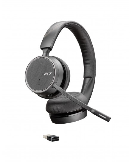 Plantronics B4220 Voyager UC USB-A bluetooth stereo headset