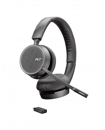 Plantronics B4220 Voyager UC USB-C bluetooth stereo headset