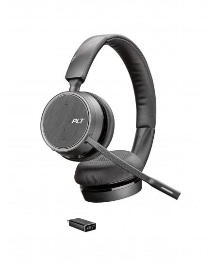 Poly (Plantronics) 4220 Voyager UC USB-C bluetooth duo headset