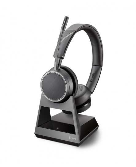 Poly (Plantronics) Voyager 4220 office, 1-way base, USB-A stereo headset