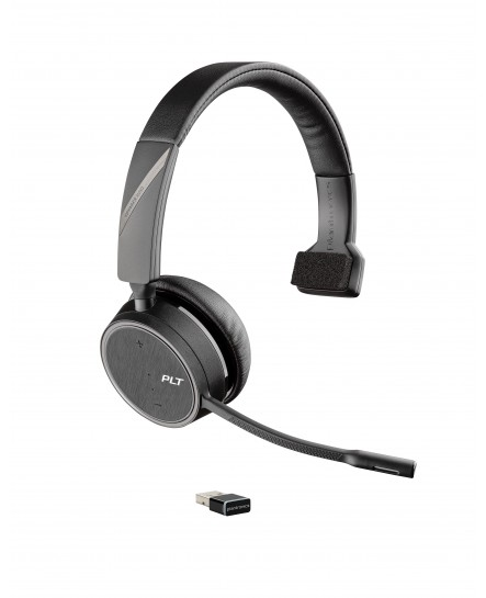Poly (Plantronics) 4210 Voyager UC USB-A med laddstation mono headset