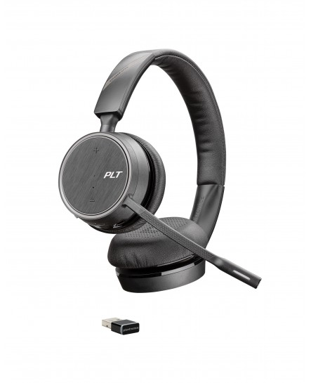 Poly (Plantronics) 4220 Voyager UC USB-A med laddstation mono headset