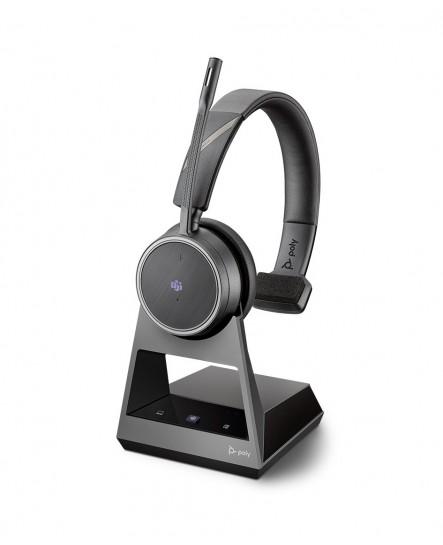 Poly (Plantronics) Voyager 4210M office, 2-way base, USB-C mono headset