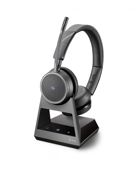 Poly (Plantronics) Voyager 4220M office, 2-way base, USB-C stereo headset
