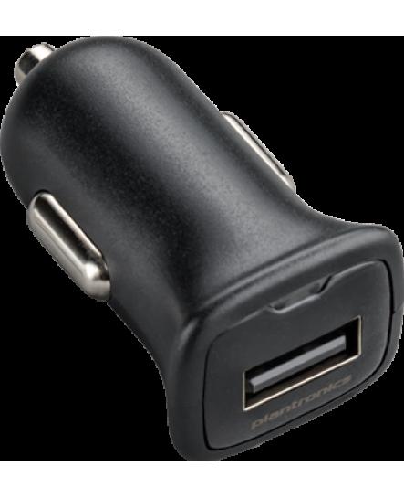 Plantronics laddare 12/24 V, mUSB svart exkl. kabel