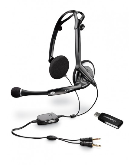 Plantronics .Audio 400 DSP stereo headset