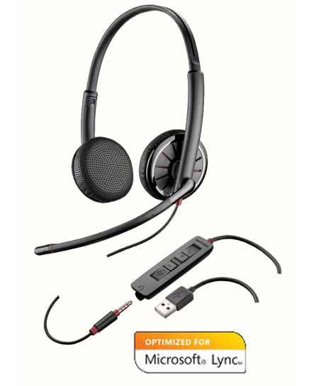 Plantronics Blackwire C325.1M USB-3.5 mm headset