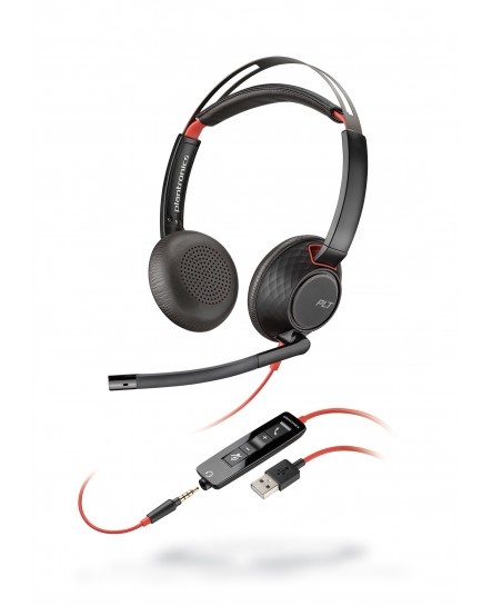 Plantronics C5220 Blackwire USB stereo headset