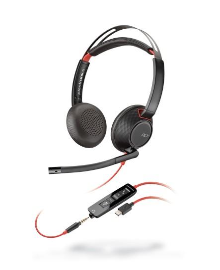 Plantronics C5220 Blackwire USB-C stereo headset