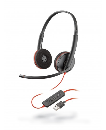 Plantronics C3220 BlackWire USB-A stereo headset
