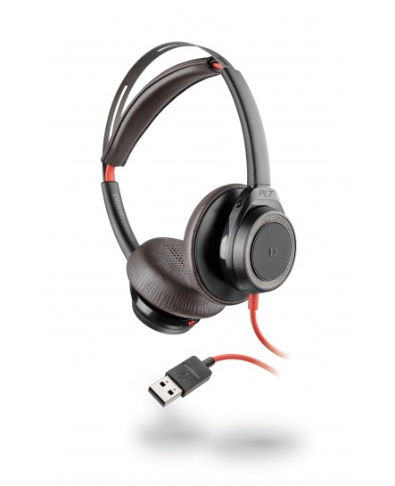 Plantronics BlackWire 7225 USB-A ANC black stereo headset