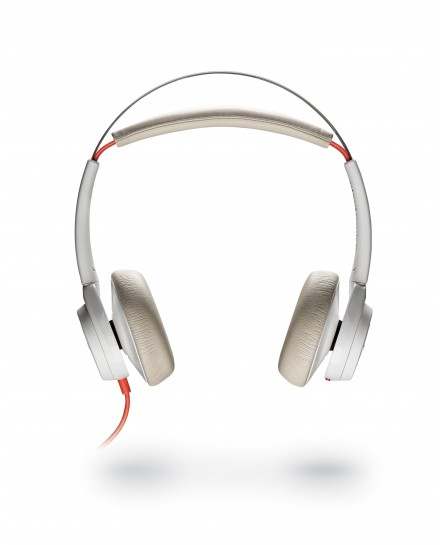 Plantronics BlackWire 7225 USB-A ANC white stereo headset