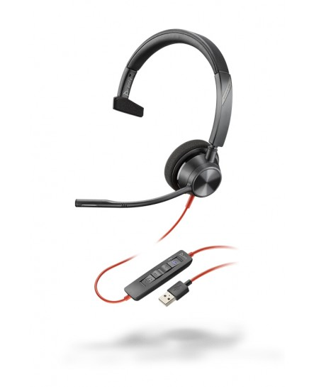 Plantronics BlackWire BW3310-M USB-A mono headset