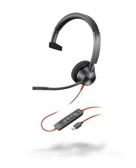 Plantronics BlackWire BW3310 USB-C mono headset