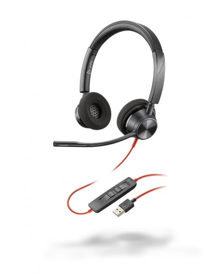 Plantronics BlackWire BW3320 USB-A stereo headset